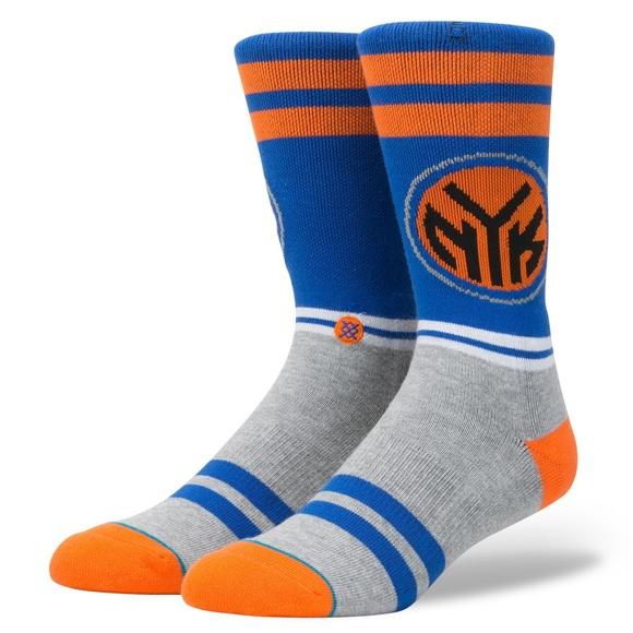 NWT Stance NBA NY Knicks city gym crew socks